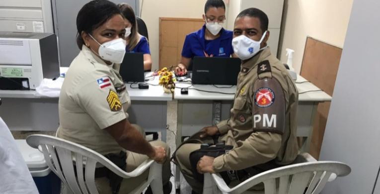 PMs recebem atendimento médico dentro das unidades