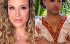 A atriz e apresentadora Maíra C'harken, será a próxima convidada de Van Carvalho, na live 'Vem Com a Van'.