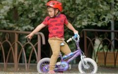 Aro e ajustes da bicicleta são importantes para o uso de crianças