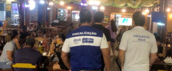 Salvador tem 29 estabelecimentos interditados durante fim de semana