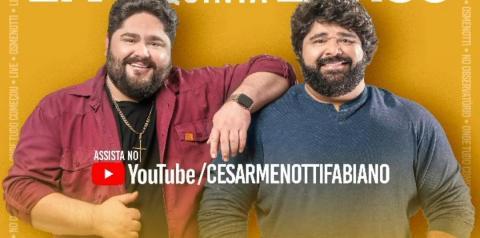 César Menotti & Fabiano trazem repertório que os consagrou