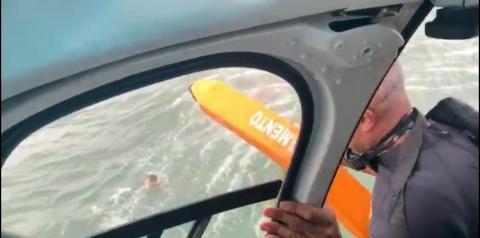 Graer captura criminoso que tentou fugir pelo mar