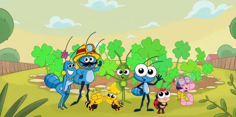 Série infantil 100% brasileira é um grande sucesso no canal infantil fechado da Globo