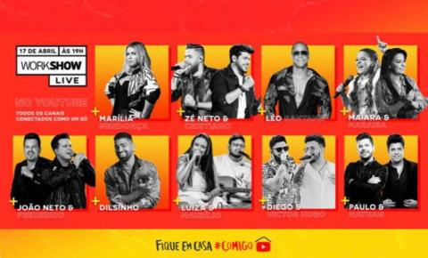 Brasil terá sua primeira multi-live - WorkShow Live