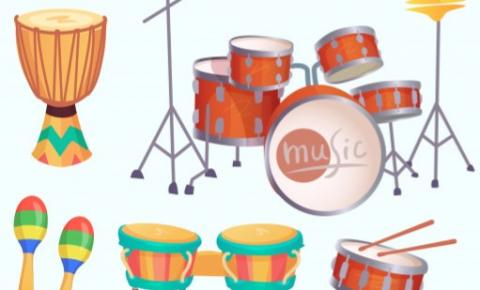 Os instrumentos de Percussão