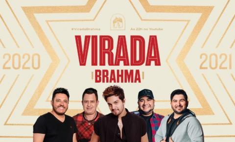 Brahma promove show inédito da virada com Bruno e Marrone, Luan Santana e Barões da Pisadinha.