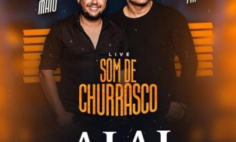 Hugo e Tiago fazem segunda live.