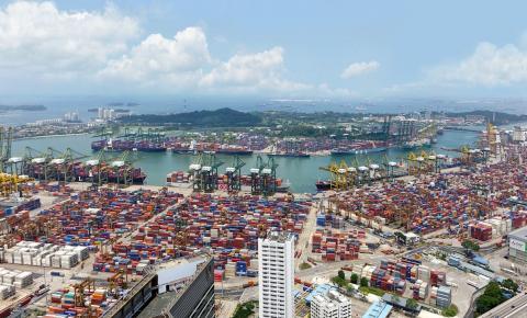 Movimentação de cargas nos portos chegou a 1,117 bi de toneladas em 2018