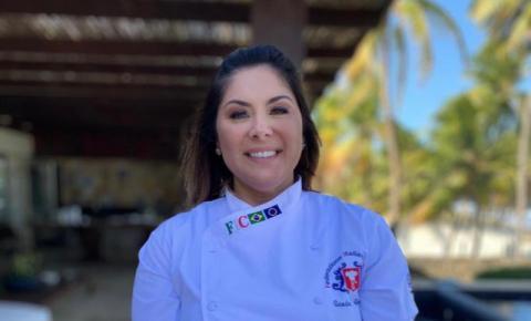 Chef Sandra Regina ministra capacitações individuais e coletivas.