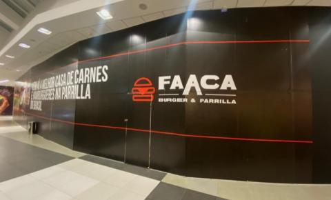 Faaca Burger e Parrilla chega ao Shopping Guararapes, na praia de Piedade, local com maior incidência de soteropolitanos quando aterrizam no aeroporto dos Guararapes em Pernambuco.