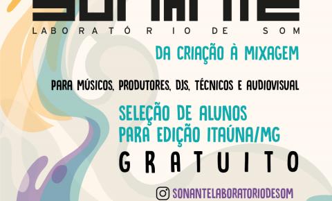 Oficina de Produção Musical em Itaúna/MG