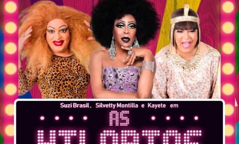 MG: Silvetty Montilla, Kayete e Suzy Brasil apresentam o espetáculo
