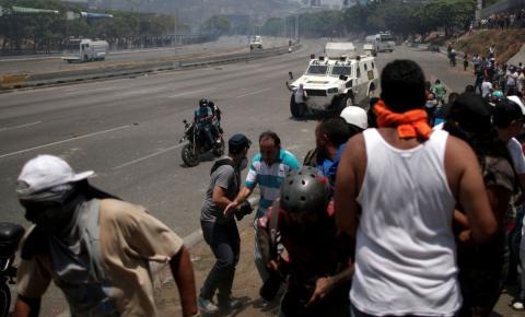 Brasil incentiva países a apoiarem Juan Guaidó