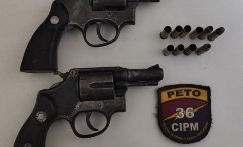 Bandidos armados são localizados em Dias DÁvila