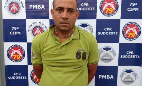PMBA   Localiza e prende femicida foragido de  São Paulo no interior da Bahia