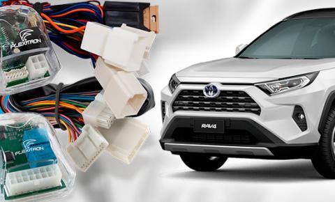 Empresa se antecipa e lança novos acessórios para o RAV4 da Toyota