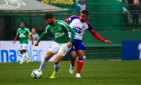 Na Arena Condá, Bahia empata com a Chapecoense em 0 a 0