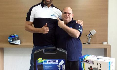 Wimpel fecha parceria com o aerografista Maurício Gigante