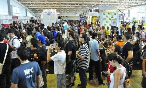 Evento reúne desenvolvedores e consumidores de jogos na Cidade Maravilhosa