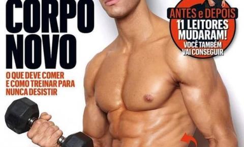 Gil Soares estrela campanha com supermodelo e chama atenção da web