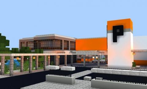 Saudade inspira estudante a construir colégio em jogo eletrônico
