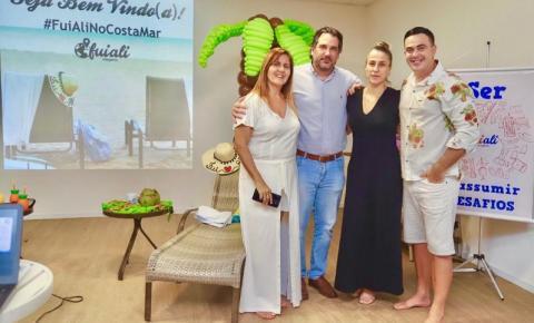 Fui Ali Viagens inaugura loja no Costa Mar Recife Hotel na zona sul em Piedade.