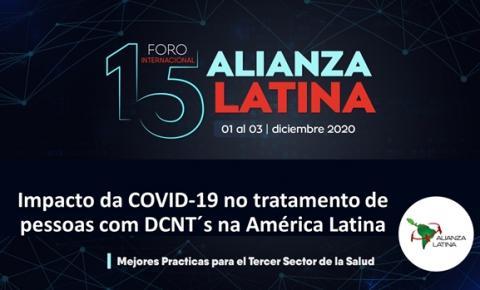 Sondagem com pacientes e profissionais de Saúde mostra o impacto da COVID-19 no tratamento de pessoas com DCNTs na América Latina
