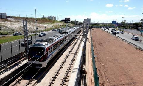 Sedur desembarga obra da CCR Metrô na região do aeroporto