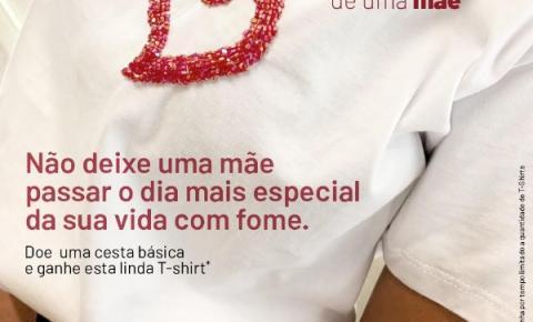 Mesckla lança campanha solidária de dia das mães: Doe uma cesta básica e ganhe uma T-shirt exclusiva da Marca.