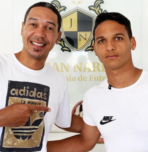Kevin Marins está treinando pesado no complexo esportivo Jean Narde em Salvador.